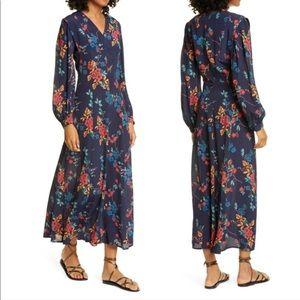 Sea New York Mari floral maxi dress size 10